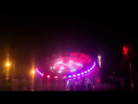 New Game@Allou! Fun Park MOONRAKER by night