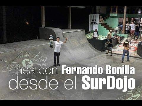 Linea con Fernando Bonilla desde el SurfDojo