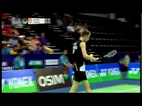 SF - MS - Peter Hoeg Gade vs Park Sung Hwan - 2011 Yonex Sunrise India Open