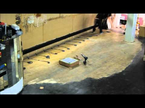 LED Illuminated Dance Floor build time lapse