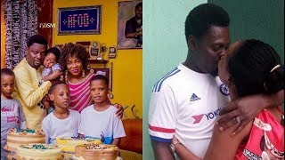 True Love! See How Kunle Afod's Wife Surprise Him On His 44th Birthday