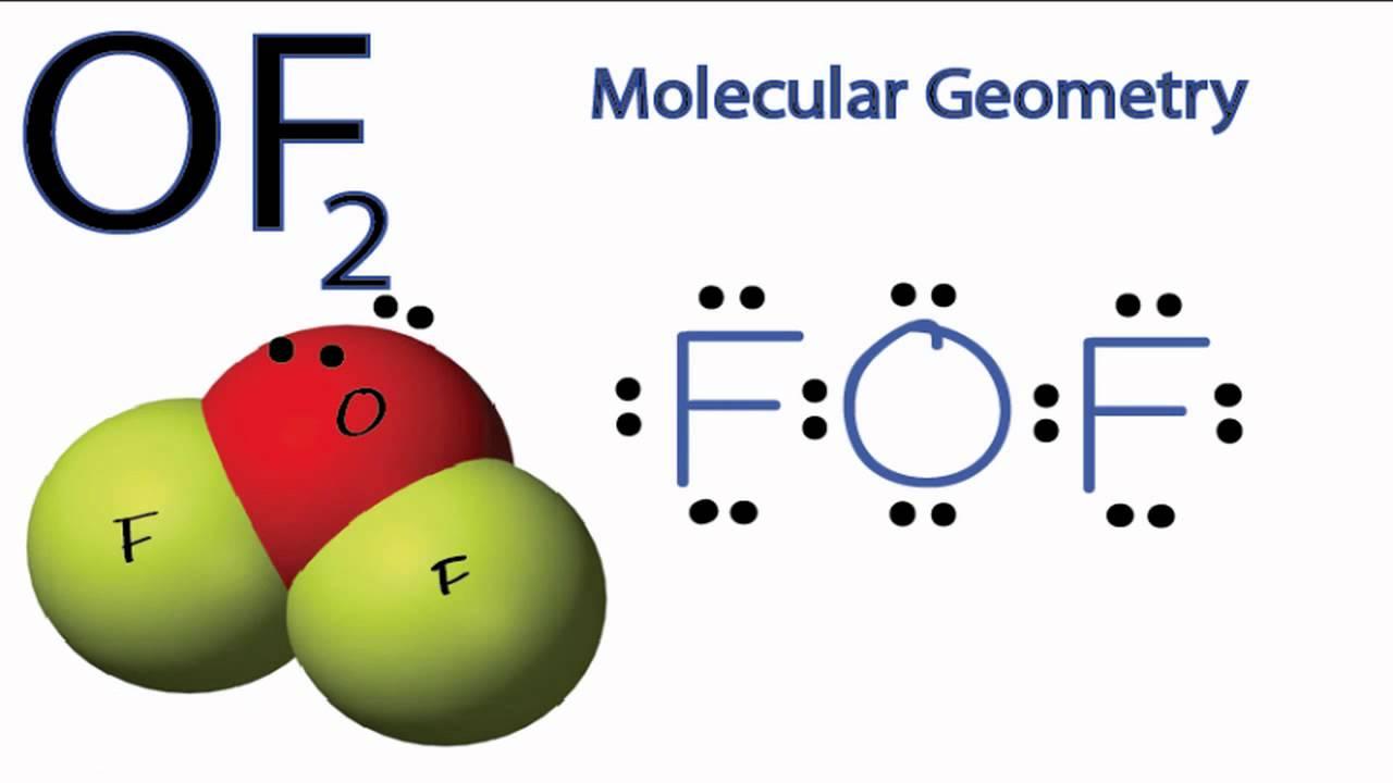 Of2 Geometry OF2 Molecular Geometry