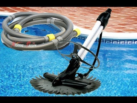 Hose hookup for pool