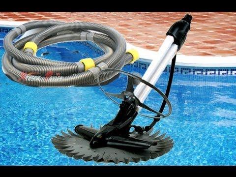 Swimming pool vacuum hook up