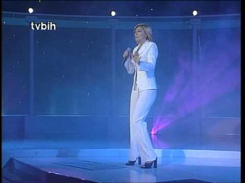 Nina Badrić - Nek ti bude kao meni @ Miss BiH 2000