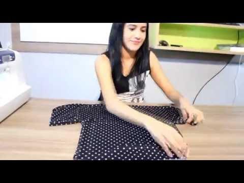 Как сшить блузку на лето очень легко | How to make a blouse