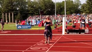 National Anthem by Mona - IHSAA state track meet