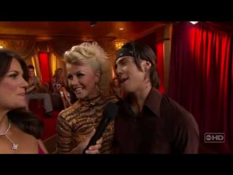 DWTS Apolo Anton Ohno & Julianne Hough Samba (Week 5, HD)