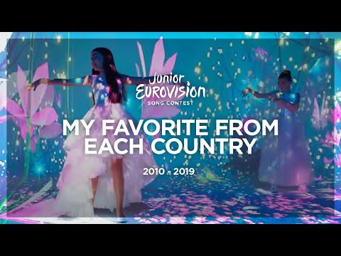 Junior Eurovision 2010-2019: My Favorite Song from Each Country