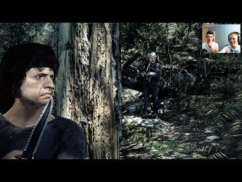 Hrajeme... Rambo: The Video Game :'(