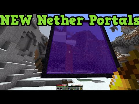 Minecraft Xbox 360 + PS3 - TU22 Feature Custom Nether Portals