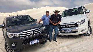 2016 Toyota Hilux vs Ford Ranger