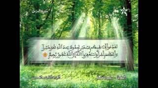 Recitation Of The Sheikh Rachid Belasheyyah تلاوة مميزة للمقرئ رشيد بلعشية الحزب 58