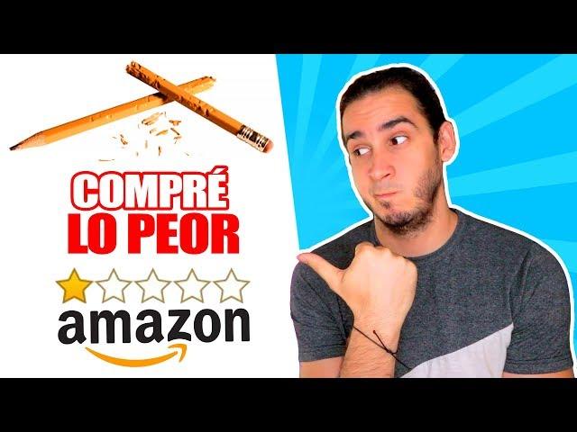 COMPRO LOS PEORES MATERIALES DE ARTE EN AMAZON Y HAGO UN DIBUJO DE SONIC REALISTA ! HaroldArtist