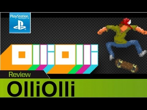 OlliOlli PS Vita review & gameplay - Tony Hawk meets Hotline Miami