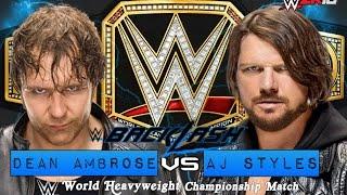 WWE Backlash 2016 -