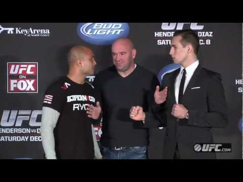 UFC on FOX 5: BJ vs. Rory at the Press Conference
