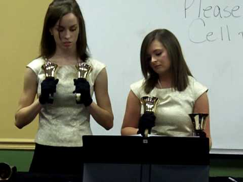 Franklin Road Christian School Sr. High Handbells Fantasy No.3 in G minor - 01/31/2009
