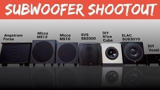 Subwoofer Shootout |  Budget vs. Midrange vs. DIY vs. Old School Subs