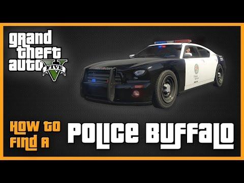 GTAV - How to Find a Police Buffalo