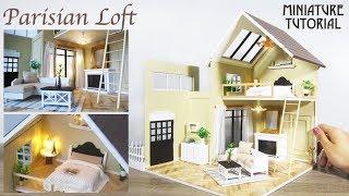 DIY Miniature -  Paris Dollhouse (Kit Bash)