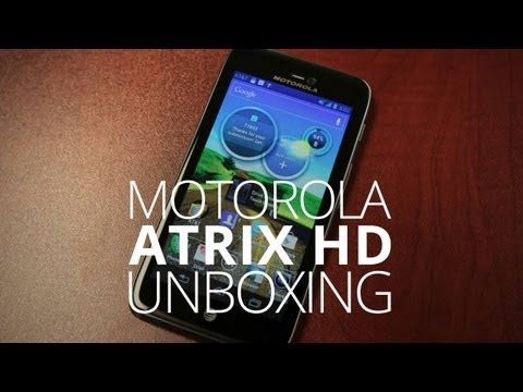 Motorola Atrix HD Unboxing & Hands On