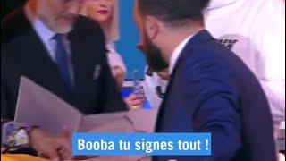 Booba signe le contrat en directe sur TPMP !