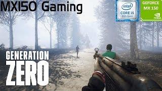GENERATION ZERO | GeForce MX150 | i5 8250u | 8GB DDR4 | Acer Aspire 5 | Budget Gaming