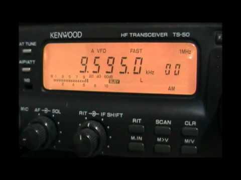 JOZ3 Radio Nikkei 1 (Chiba-Nigata, Japan) in japanese and english - 9595 kHz
