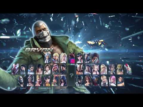 TEKKEN 7 (PS4) - All Character Costumes FULL ROSTER [1080P 60FPS] Direct Feed