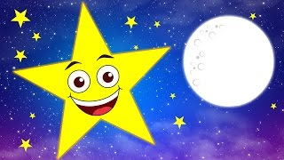 Twinkle Twinkle Little Star - Nursery Rhymes | Chikaraks