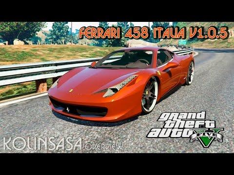 Ferrari 458 Italia v1.0.5