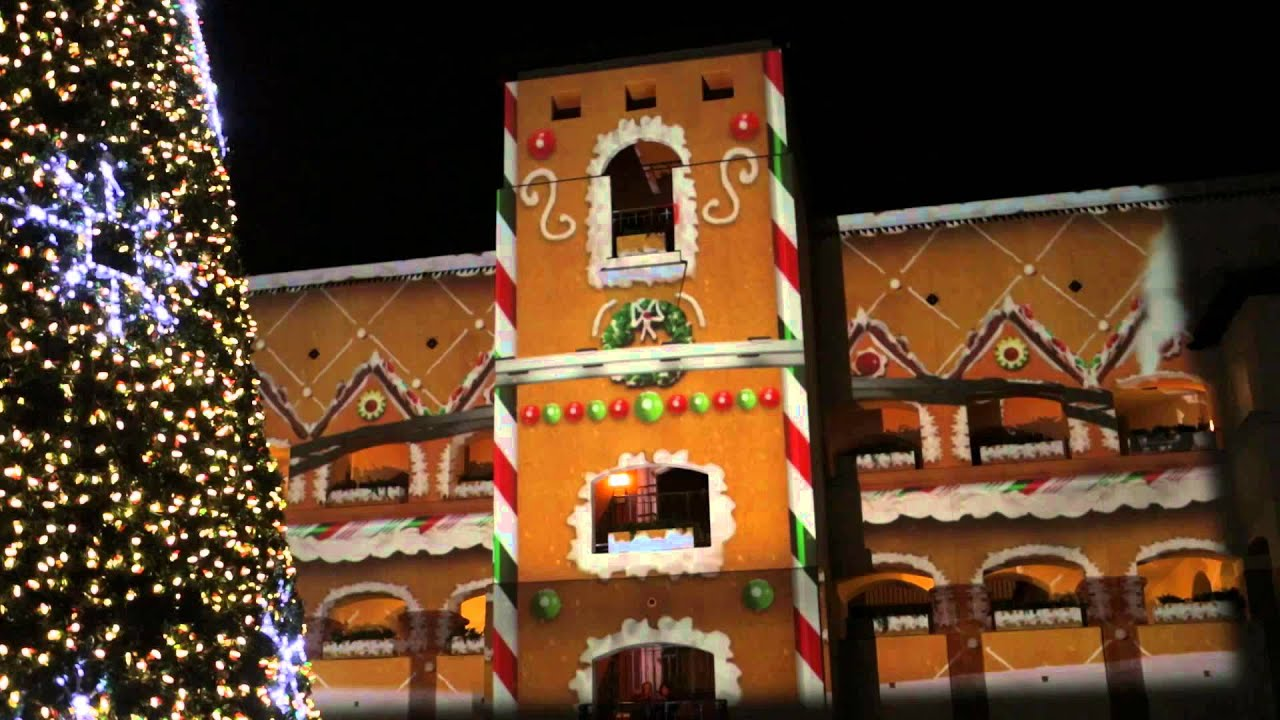 Christmas House Projection