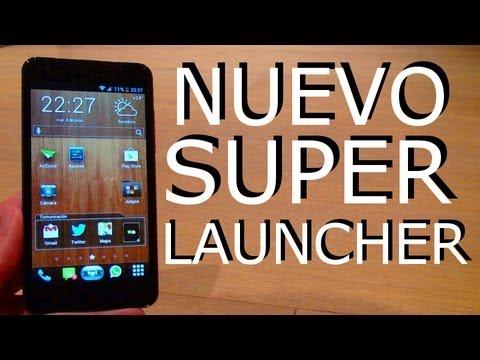 Nuevo Mega Launcher de lujo GRATIS !! Pro Android
