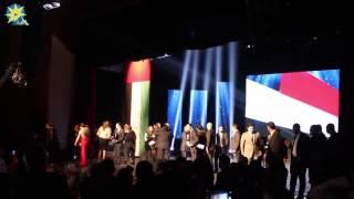 بالفيديو: الفنانين المصريين في حفل شكرا للإمارات
