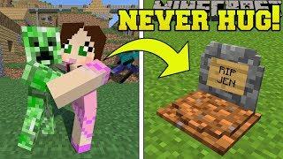Minecraft: *NEVER* HUG CREEPERS!!! - CREEPER'S WORLD - Custom Map