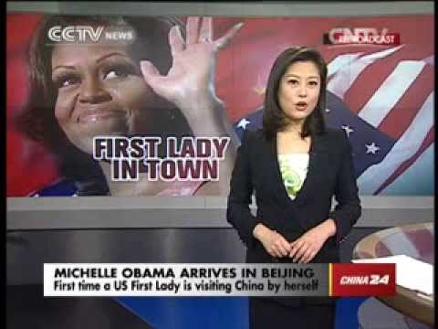 US First Lady arrives in Beijing for China visit