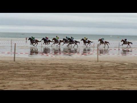 TURF. HORSE RACING. GRAN DERBY SALVE 2015 LAREDO BEACH. SPAIN