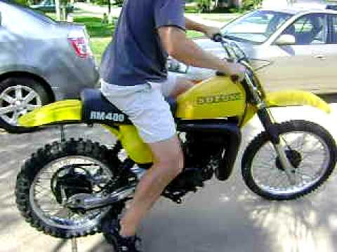 Dino's 1978 RM 400 Suzuki