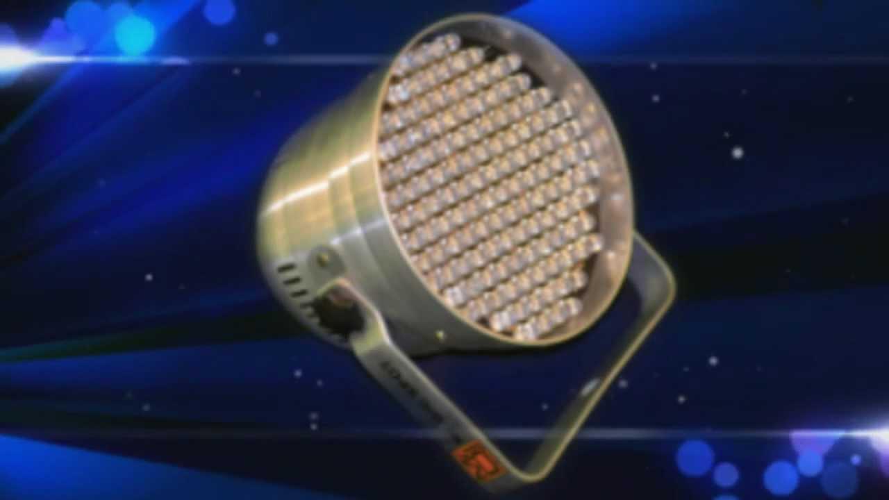 Luces de escenarios cosmik electronicos iluminacion led para dj youtube - Luces led a pilas para armarios ...