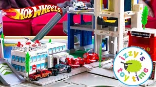 Cars for Kids | Thomas and Friends with Hot Wheels Fast Lane and Playmobil Police Mashup!