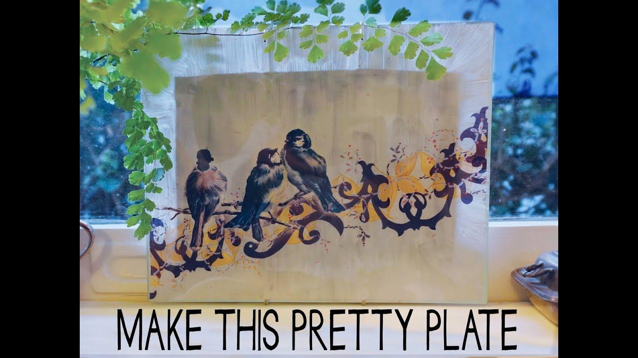 Pretty Decorative Plates Make This Decorative Plate