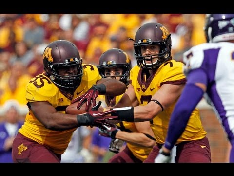 http://www.GopherSports.com Behind rushing duo David Cobb and Rodrick Williams, who each ran for two touchdowns on Saturday afternoon, Minnesota improved to ...