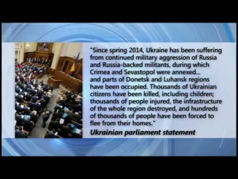 Ukraine Prepares to Appeal to Hague Court: Putin Crimea movie to be used as war crime evidence