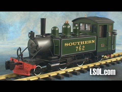 Garden Trains: Bachmann 2-4-2T Lyn Steam Locomotive