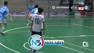 Calcio a 5, Coppa Italia Under 21: Cioli Cogianco - Napoli, highlights e interviste