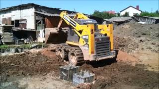 House build: Foundation installation 1 part - Namo statyba: Rostverko irengimas 1 dalis