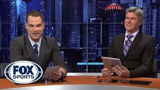 Jay and Dan read Tweets about the FOX Sports Live debut