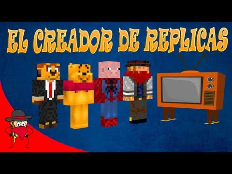 El Creador De Replicas | Blitz Build - Minecraft | Con Sara, Exo y Luh