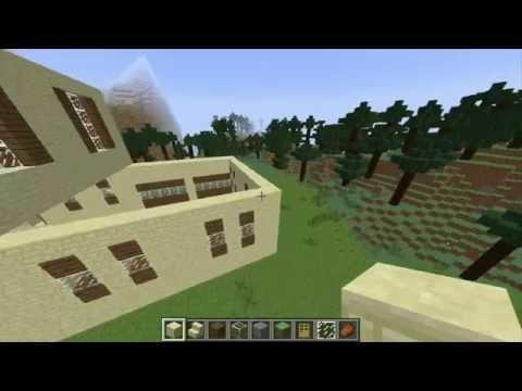 Como Hacer una Super Mansion Moderna en Minecraft (Capitulo 13)
